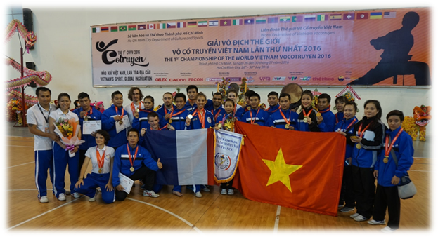Groupe - Vo Co Truyen - vietnam france